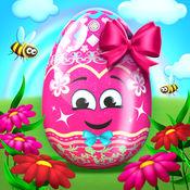 复活节游戏 绘画鸡蛋 3D - 颜色和装饰