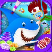 深海生命救援冒险 - 水下海洋外科医生治疗儿童游戏