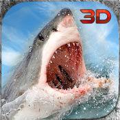 海怪鲨鱼袭击模拟3D