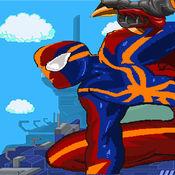 愚蠢的小人 - 复仇的超级英雄8位跳弹射击