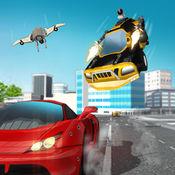 特务飞行汽车蔡斯 - 现实生活中的犯罪3D