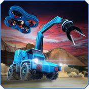 特务机器人小队 - 炸弹队模拟飞行。