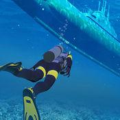水下潜水员潜水