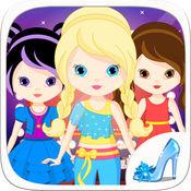 装扮明星时装秀工作室女孩游戏美术设计师风格改头换面