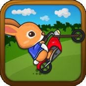 复活节兔子的摩托车 - 极限运动自行车赛追逐顶级游戏 - Easter Bunny motorcycle - Extreme motor bike race chase top game