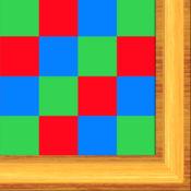 棋盘蒙特梭利的乘法 - 学习乘法儿童