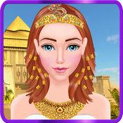 埃及公主化妆与美容沙龙女孩游戏