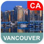 温哥华,加拿大 离线地图 - PLACE STARS