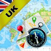 英国(UK),苏格兰, 苏格兰, 爱尔兰 - 离线地图和GPS导航仪