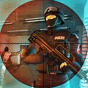地铁特警狙击手射击游戏3D - 反恐部队打击