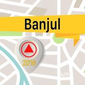班珠尔 离线地图导航和指南 1