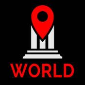 世界旅行指南 - 离线地图(断开)
