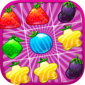 糖梦幻般的水果 - 光荣件