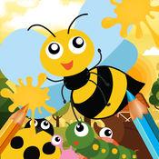 Cute Bug Paint - 昆虫 画画涂色 对于 小天使