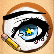 学画画 眼睛 版 1