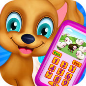 小狗婴儿电话号码儿童游戏 1