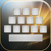 酷键盘和字体换片 – 免费皮肤和主题与苹果手机花哨按键的设计