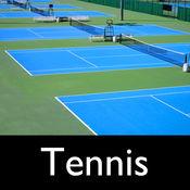 网球场的预订应用 - 企业管理解决方案