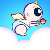 可爱的丘比特飞行比赛躁狂症 - 最好的奇幻冒险游戏