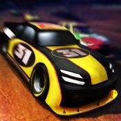 赛车场 强高齿轮赛车 Motor Speedway Top 500 High Gear Car Racing