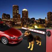 安全警犬嗅探器模拟器:帮助部队安全犯罪分子的城市