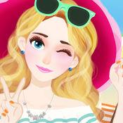 时尚女生美容化妆换装:夏季进行时!