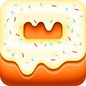 选择并播放的甜甜圈疯狂疯狂赌场老虎机赢得