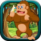 超级香蕉疯狂跳跃--猩猩疯狂大冒险