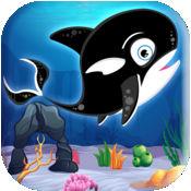 Tappy径的逆戟鲸海洋的挑战 PRO- 极端野生杀人鲸游戏