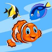 水族馆 - 热带鱼和珊瑚礁壁纸