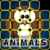 拼图为孩子们:动物