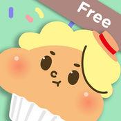 饼干卡 - 英语词汇学习 - 婴幼儿,儿童英语单词卡片游戏