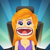 疯狂的虚拟名人牙医亲 - 新牙医生的游戏
