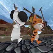 动物园跑家用快乐宠物的自由 - 可爱和精彩的职业生涯3D