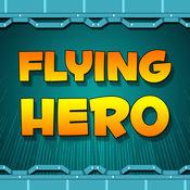超级英雄的飞行冒险比赛亲