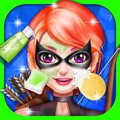 超级英雄卸妆游戏 - 女孩游戏