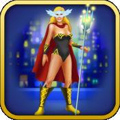 超级英雄的女孩! - 女孩功率时尚和风格的梦幻服装 - 免费广告
