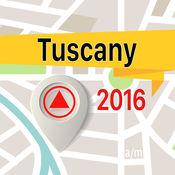 托斯卡纳 离线地图导航和指南 1
