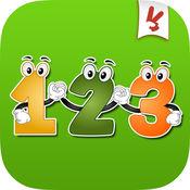学习号码 - 教育游戏为孩子们在幼儿园幼儿和婴儿英文免费