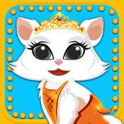 可爱的小猫宠物沙龙 — — 十几岁女孩子们的化妆免费游戏