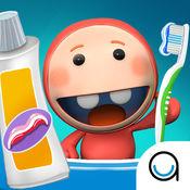 起泡沫:Icky's的牙刷游戏时间