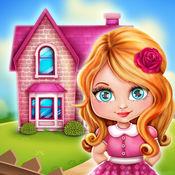 娃娃屋女孩游戏: 设计自己的房子 1