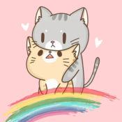 可愛的貓著色書小貓兒童