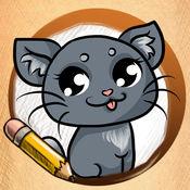 学画画的动漫动物版