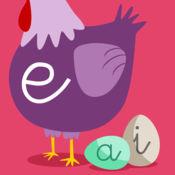 学习西班牙语元音 -  学龄前学习游戏 - iPhone