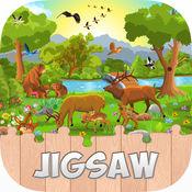 可爱动物拼图HD  - 有趣的游戏拼图