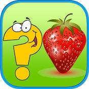 可爱的水果智商匹配游戏蹒跚学步