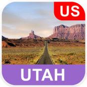 美国犹他州 离线地图 - PLACE STARS
