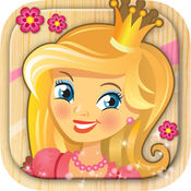 宝宝儿童公主的秘密花园涂色画画游戏 - 3至7岁女孩早教益智应用