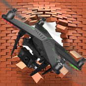 四轴飞行器无人驾驶飞机飞行模拟器 - 点击播放。